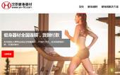 汉臣健身器材网站建设