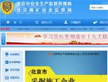 北京市安全生产监督管理局网站建设