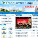 扬州大学资产经营公司网站建设