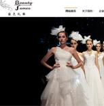 广东国色婚纱礼服有限公司网站建设