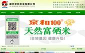 京和米业网站建设