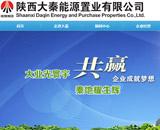 大秦能源置业网站建设