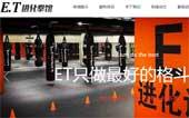 ET进化拳馆网站建设