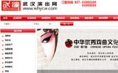 武汉演出网网站建设