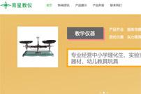 广州市育星教育装备有限公司网站建设