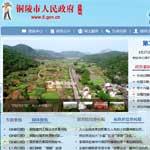铜陵市人民政府网站建设