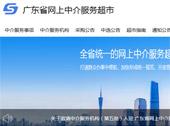 广东省网上中介服务超市网站建设