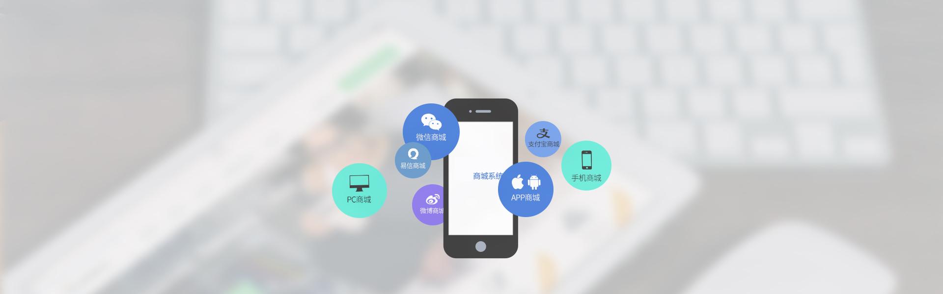 睿虎网站制作五网合一商城系统