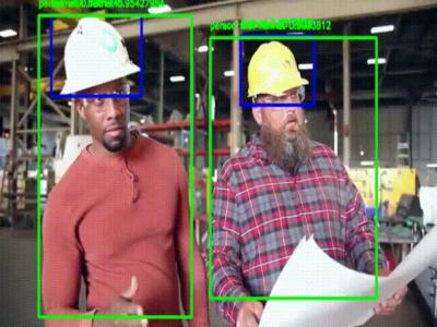 安全帽识别算法