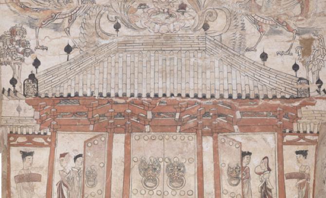 忻州九原岗北朝壁画墓